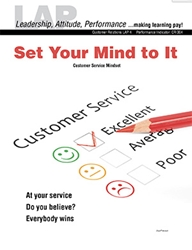 LAP-CR-004, Set Your Mind to It (Customer Service Mindset) (Download) CR:004, Customer Service
