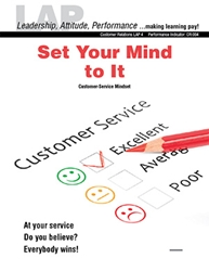 LAP-CR-004, Set Your Mind to It (Customer-Service Mindset) (Download) Customer Service