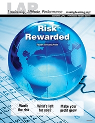 LAP-EC-002, Risk Rewarded (Factors Affecting Profit) (Download) EC:010, Economics, Free Enterprise