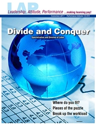 LAP-EC-007, Divide and Conquer (Specialization and Division of Labor) (Download) EC:014, Economics, Free Enterprise