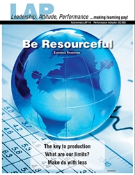 LAP-EC-014, Be Resourceful (Economic Resources) (Download) Economics