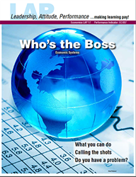 LAP-EC-017,  Whos the Boss? (Economic Systems) (Download) Economics, Economic Systems