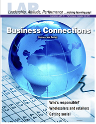 LAP-EC-070, Business Connections (Business and Society) (Download) EC:070, Economics, Free Enterprise, Business Basics, Business Functions, LAP-EC-020