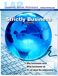 LAP-EC-071, Strictly Business (Business Activities) (Download) LAP-EC-019, Business Basics, Business Functions, Economics