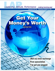LAP-EC-100, Get Your Money's Worth (Exchange Rates) (Download) EC:100, LAP-EC-030, Economics