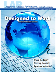 LAP-EC-103, Designed to Work (Organizational Design of Businesses) (Download) Economics, LAP-EC-023