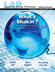 LAP-EC-105, What's Shakin'? (Factors Affecting the Business Environment) (Download) LAP-EC-026, Economics