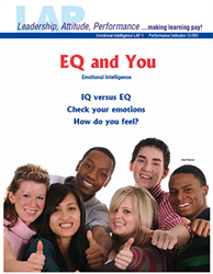 LAP-EI-001, EQ and You (Emotional Intelligence) (Download) EI:001, Personal Development, Character Development, Workplace, LAP-EI-006