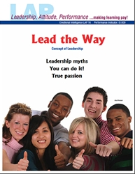 LAP-EI-016, Lead the Way (Concept of Leadership) (Download) Emotional Intelligence, Professional Development, Workplace, Co-op