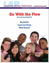 LAP-EI-023, Go With the Flow (Demonstrating Adaptability) (Download) Emotional Intelligence, Personal Development, Workplace, Co-op