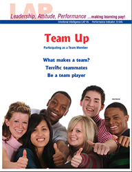 LAP-EI-045, Team Up (Participating as a Team Member) (Download) EI:045, Emotional Intelligence, Ethics
