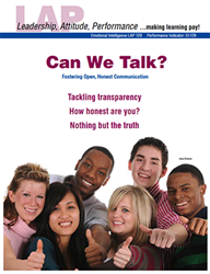 LAP-EI-129, Can We Talk? (Fostering Open, Honest Communication) (Download) EI:129, Emotional Intelligence, Ethics