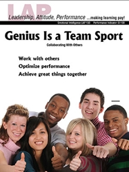 LAP-EI-130, Genius Is a Team Sport (Collaborating With Others) (Download) EI:130, Emotional Intelligence, Ethics