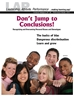 LAP-EI-139, Don't Jump to Conclusions! (Recognizing and Overcoming Personal Biases and Stereotypes) (Download) - LAP-EI-139