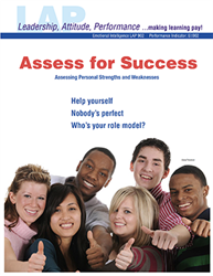 LAP-EI-902, Assess for Success (Assessing Personal Strengths and Weaknesses) (Download) EI:017, LAP-EI-017, Emotional Intelligence, Personal Development, Careers, Workplace, Co-op