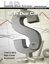LAP-FI-351, With Due Care (The Role of Ethics in Accounting) (Download) FI:351, Financial Management