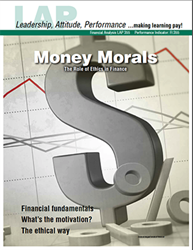 LAP-FI-355, Money Morals (The Role of Ethics in Finance) (Download) FI:355, Financial Management