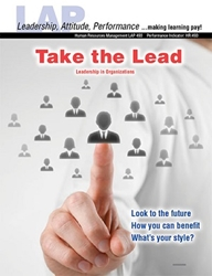 LAP-HR-493, Take the Lead! (Leadership in Organizations) (Download) Management, Professional Development, Recruiting, Training, Employing, LAP-HR-036
