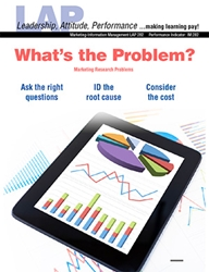 LAP-IM-282, What's the Problem? (Marketing Research Problems) (Download) IM:282, LAP-IM-013, Information Management
