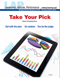 LAP-IM-285, Take Your Pick (Nature of Sampling Plans) (Download) LAP-IM-016, Information Management, Marketing