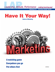 LAP-MK-004, Have It Your Way! (Nature of Marketing) (Download) MK:001, Business Basics, Business Functions, Business Administration