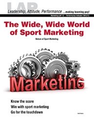 LAP-MK-012, The Wide, Wide World of Sport Marketing (Nature of Sport Marketing) (Download) MK:012, LAP-MK-005, LAP-BA-008