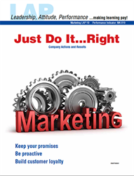 LAP-MK-019, Just Do It...Right (Company Actions and Results) (Download) MK:019, LAP-MK-003, Marketing, Management