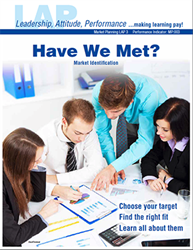 LAP-MP-003, Have We Met? (Market Identification) (Download) Market Planning, Marketing