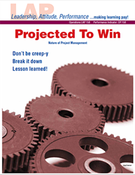 LAP-OP-158, Projected to Win (Nature of Project Management) (Download) Operations, LAP-OP-006