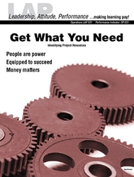 LAP-OP-531, Get What You Need (Identifying Project Resources) (Download) Operations, LAP-QS-019