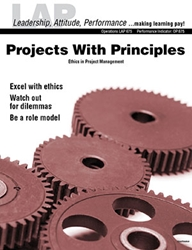 LAP-OP-675, Projects With Principles (Ethics in Project Management) (Download) Operations