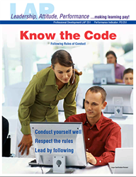 LAP-PD-251, Know the Code (Following Rules of Conduct) (Download) Professional Development, Ethics