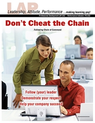 LAP-PD-252, Dont Cheat the Chain (Following Chain of Command) (Download) Professional Development
