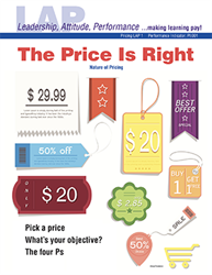 LAP-PI-001, The Price Is Right (Nature of Pricing) (Download) LAP-PI-002, PI:001, Marketing