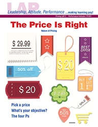 LAP-PI-002, The Price Is Right (Nature of Pricing) (Download) Marketing