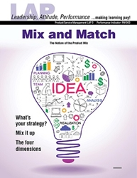 LAP-PM-003, Mix and Match (The Nature of the Product Mix) (Download) Product Management, Product Planning, Branding