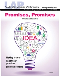 LAP-PM-004, Promises, Promises (Warranties and Guarantees) (Download) PM:020, Product Management, Product Planning, Branding, Customer Service