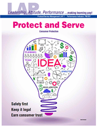 LAP-PM-007, Protect and Serve (Consumer Protection) (Download) Product Management, Product Planning, Consumer Economics, Safety, Business Law