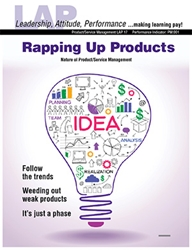 LAP-PM-017, Rapping Up Products (Nature of Product/Service Management) (Download) Product Management, Product Planning, Branding, Marketing