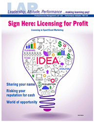 LAP-PM-139, Sign Here: Licensing for Profit (Licensing in Sport/Event Marketing) (Download) LAP-PM-012, Product Management, Product Planning, Branding