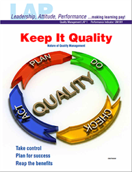 LAP-QM-001, Keep It Quality (Nature of Quality Management) (Download)