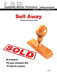 LAP-SE-017, Sell Away (The Nature and Scope of Selling) (Download) SE:017, LAP-SE-117, Careers