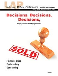 LAP-SE-108, Decisions, Decisions, Decisions (Helping Customers Make Buying Decisions) (Download) Selling