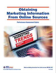 Rubric: Obtaining Marketing Information From Online Sources (Download)
