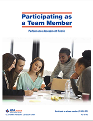 Rubric: Participating as a Team Member (Download)