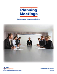 Rubric: Planning Meetings (Download)