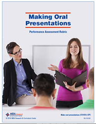 Rubric: Making Oral Presentations (Download)