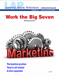 LAP-MK-001, Work the Big Seven (Marketing Functions) (Download) MK:002